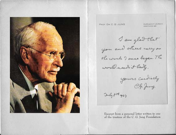 Letter from Jung